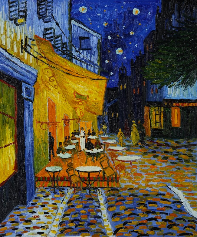 vincent van gogh the bold painter And café settings—all painted in bold  vincent van gogh, the dutch painter probably no other artist, at any time  documents similar to reading text 2.