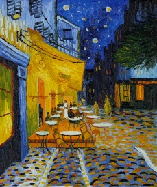 Café Terrace at Night. 1888. Netherlands. Vicent Van Gogh