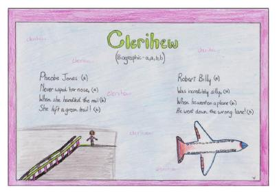 Clerihew poems about celebrity