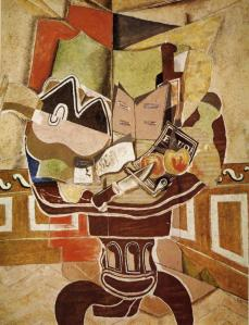 The Round Table. Georges Braque. 1929