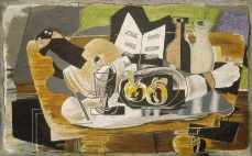 The Table. Georges Braque. 1928