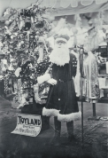 Father Christmas at T. Armstrong & Co. | christchurchcitylibraries