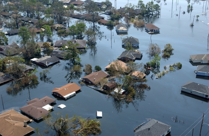 New Orleans, Hurricane Katrina aftermath aerial view | imgkid | Jocelyn Augustino/FEMA