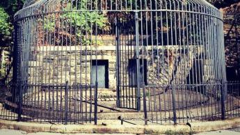 The Round Cage | Maryland Zoo | wamu.org